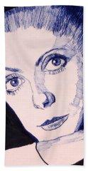 Portrait Of Catherine Bath Towel