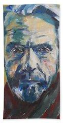 Portrait Of Jeremy Hand Towel