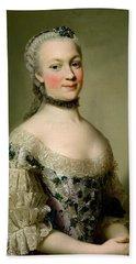 Portrait Of Katarzyny Z Zamoyskich Mniszchowej Bath Towel
