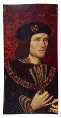 Portrait Of King Richard IIi Hand Towel