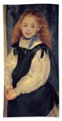 Portrait Of Mademoiselle Legrand Hand Towel
