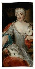 Portrait Of Maria Clementina Sobieska Bath Towel