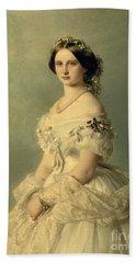 Portrait Of Princess Of Baden Hand Towel