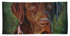 Portrait Of Remington 0094_2 Hand Towel