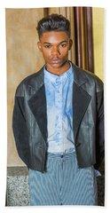 Portrait Of School Boy 15042624 Hand Towel