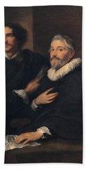 Portrait Of The Brothers De Wael Bath Towel