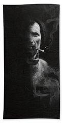 Portrait Of Tom Crean Antarctic Explorer Hand Towel
