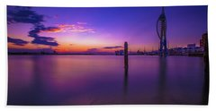 Hand Towel featuring the photograph Portsmouth  by Mariusz Czajkowski