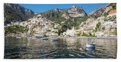 Positano From The Bay Hand Towel