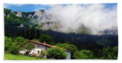 Postcard From Basque Country Bath Towel