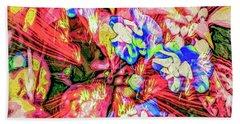 Bath Towel featuring the digital art Pot Pourri by Eleni Mac Synodinos