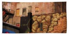 Poughkeepsie Street Art Bath Towel