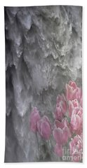 Bath Towel featuring the photograph Powerful And Gentle Waterfall Art  by Valerie Garner