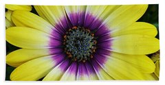 Bath Towel featuring the photograph Powerful Flower by Jasna Gopic