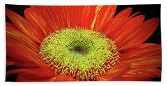 Prado Red Sunflower Bath Towel