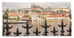 With Love From Prague Bath Towel