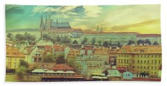Prague Riverview Bath Towel