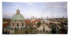 Prague Twilight Bath Towel