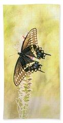 Prairie Butterfly 2 Bath Towel