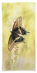 Prairie Butterfly 2 Hand Towel