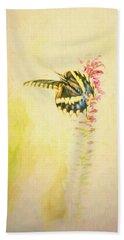 Prairie Butterfly 3 Hand Towel