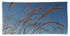 Prairie Grass Landscape Bath Towel