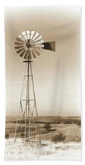Prairie Guardian Bath Towel