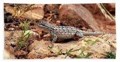 Prairie Lizard Bath Towel