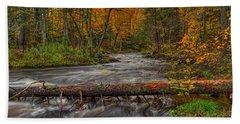 Prairie River Tree Crossing Hand Towel