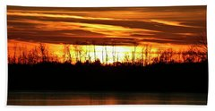 Prairie Sunset Bath Towel