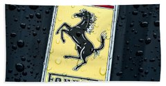Bath Towel featuring the digital art Prancing Stallion by Douglas Pittman