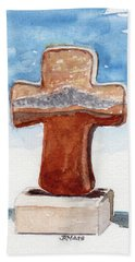 Prayer Cross Bath Towel
