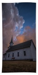 Hand Towel featuring the photograph Preacher by Aaron J Groen
