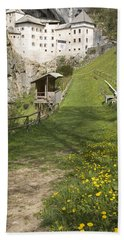 Predjama Castle Bath Towel