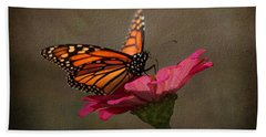 Prefect Landing - Monarch Butterfly Hand Towel
