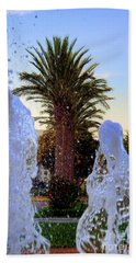 Hand Towel featuring the photograph Pregnant Water Fairy by Mariola Bitner
