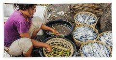 Preparing Pindang Tongkol Hand Towel by Werner Padarin
