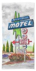 Prescott Valley Motel In Prescott, Arizona Bath Towel