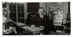 President Calvin Coolidge Hand Towel