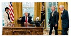 President Donald Trump Hand Towel
