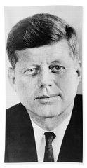 President John F. Kennedy Hand Towel