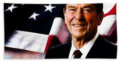 President Ronald Reagan Hand Towel