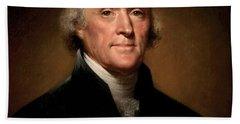 Thomas Jefferson Hand Towels
