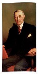 President Woodrow Wilson Bath Towel