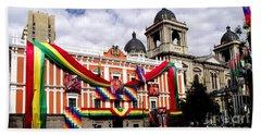 Presidential Palace La Paz, Bolivia Hand Towel