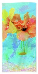 Pretty Flowers Bath Towel