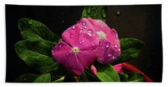 Pretty In Pink Hand Towel by Douglas Stucky
