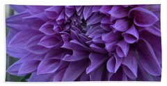 Pretty In Purple Bath Towel by Patricia Strand