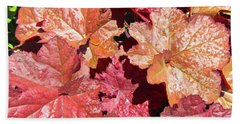 Hand Towel featuring the photograph Pretty Leaves by Stephanie Moore