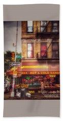 Pretty Little Corner - New York Bath Towel by Miriam Danar